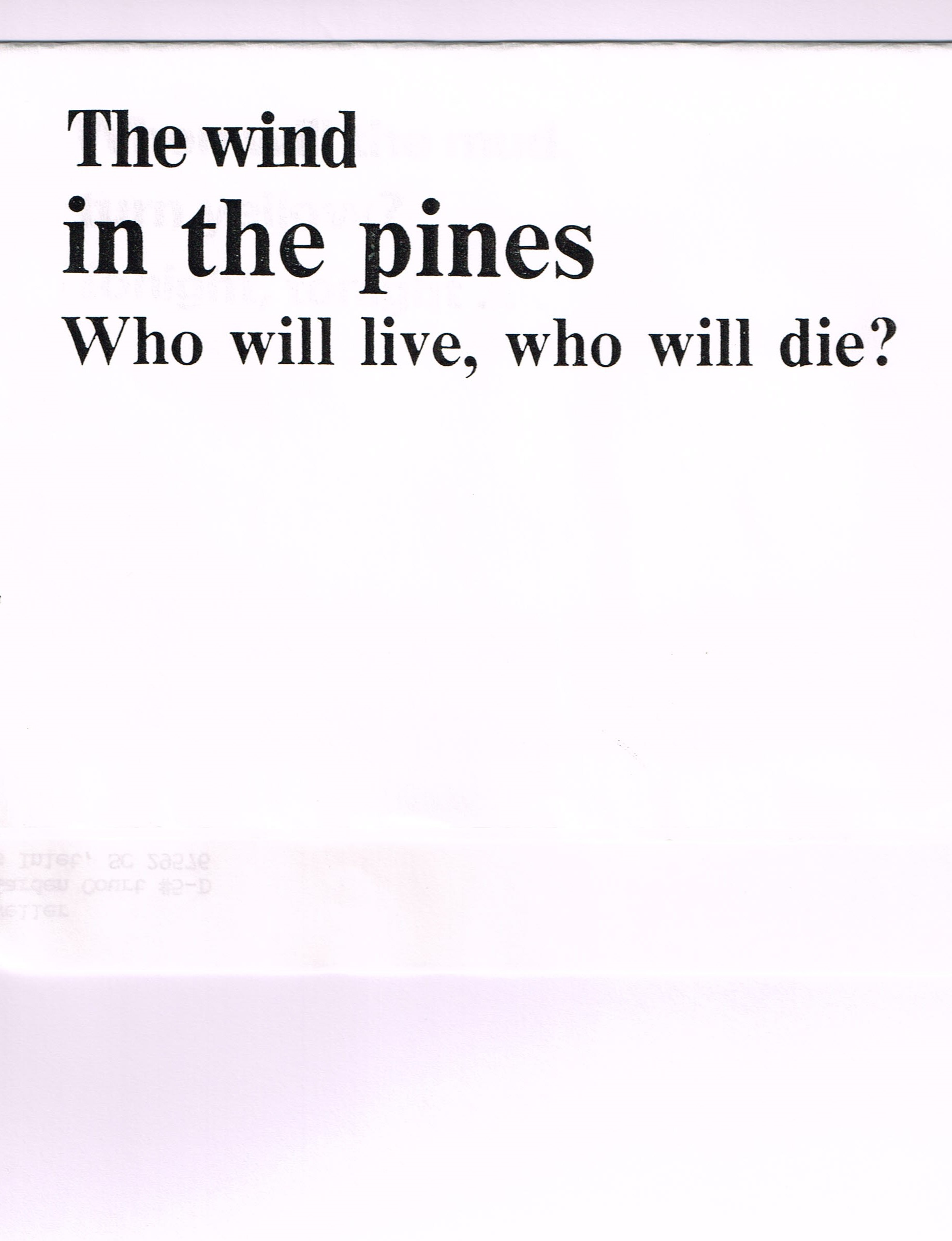 ant three cliff dweller haiku text d